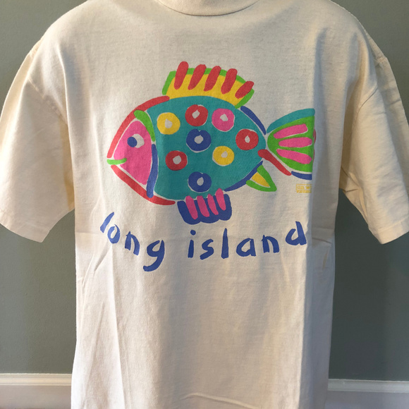 Vintage Other - Vintage 90s Long Island New York Shirt NYC